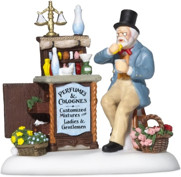 Department 56 Dickens' 2021 spring and summer new service Village Accessory Victorian Figu Perfumer