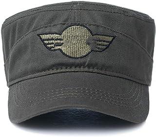 6f01d748a37a6 ILYO Chapeau Militaire de Mode Masculine extérieure Chapeau de Soleil  visière Printemps Bonnet de Camouflage Sauvage