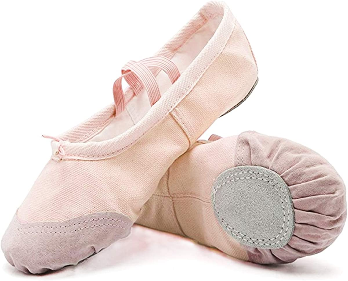 DoGeekBallet Shoes Outstanding Girls In a popularity Canvas Shoe Ballet Slipper Y