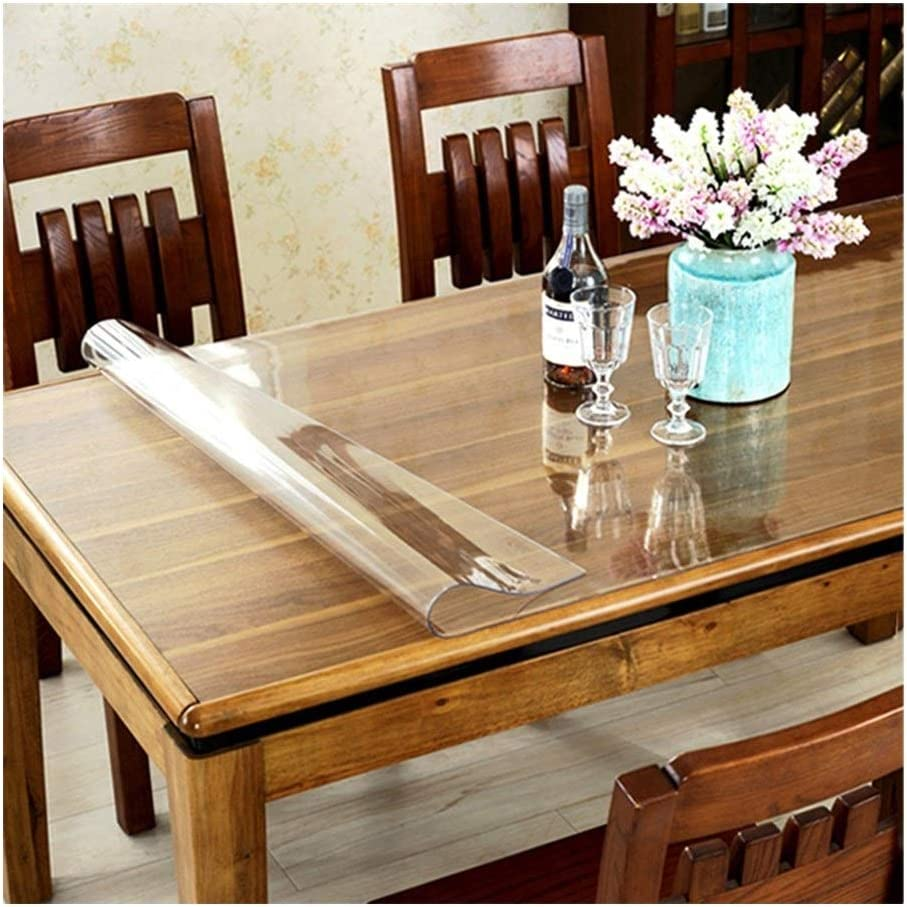 Table Cloth Cover Max 90% OFF Carpet Max 45% OFF Mat Glass PVC Scratchproof Safety Soft