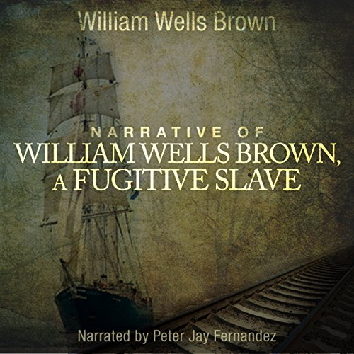 Page de couverture de Narrative of William W. Brown, A Fugitive Slave
