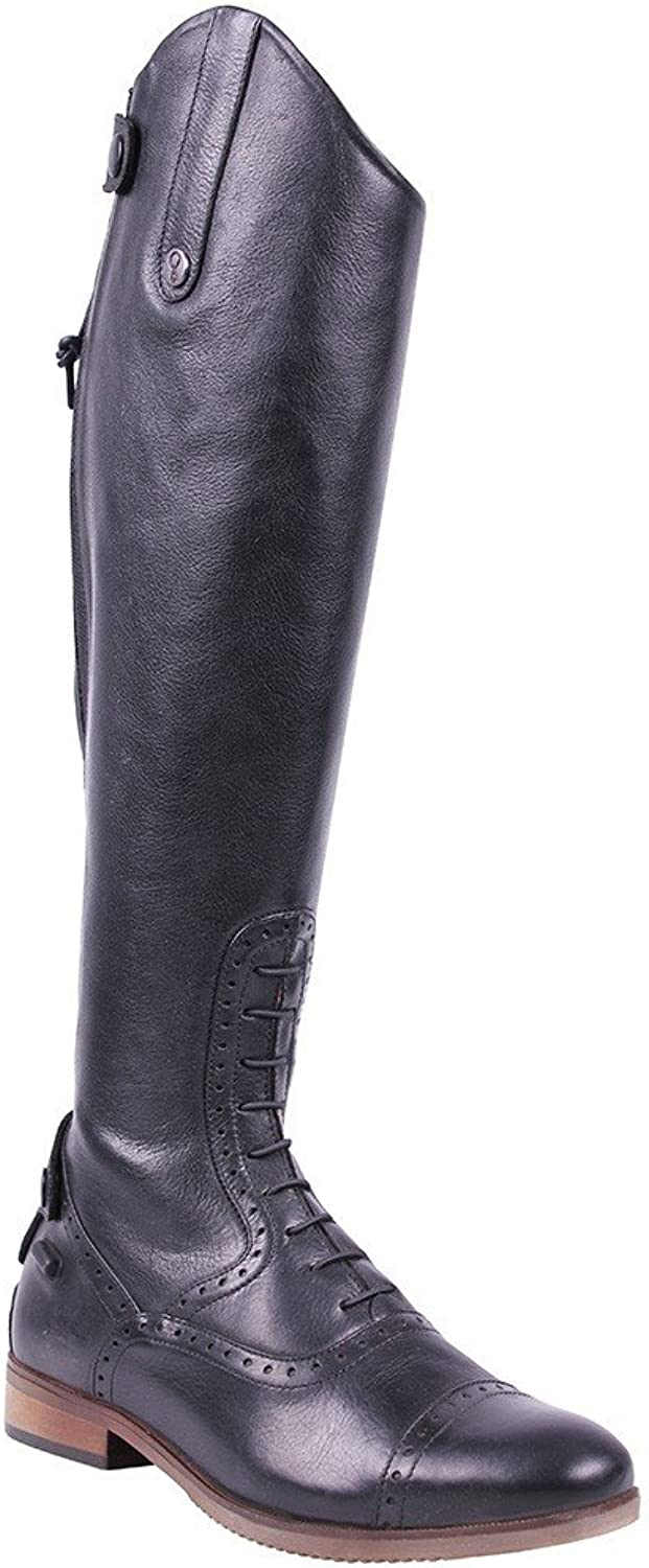 QHP Sophia Wide Womens Long Riding Boots
