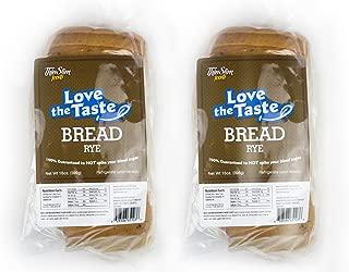 ThinSlim Foods Love-The-Taste Low Carb Bread, 2pack (Rye)
