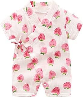 Kimono Robe Newborn Cotton Yarn Robe Baby Romper Infant Japanese Pajamas