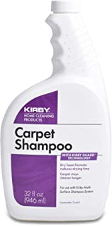 Kirby Shampoo & Stain Carpet Shampoo-Rug Remover & Odor Eliminator, Smell Neutralizer Solution-Remove Dog and Cat Stains, ...