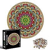 Puzzle Rotondo 1000 Pezzi,Puzzle di Cartone,Puzzle classici,Round Jigsaw,per Adulti Educativi Ideali per Rilassamento,Meditazione, Hobby