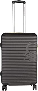 United Colors of Benetton Stan Hardcase Luggage ABS 77 cms Grey Hardsided Check-in Luggage (0IP6HAB28B03I)