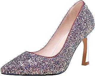 Zanpa Women Shoes Fashion Glitter Pumps