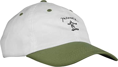 Thrasher Magazine Mark Gonzales Old Timer White/Olive Hat - Adjustable
