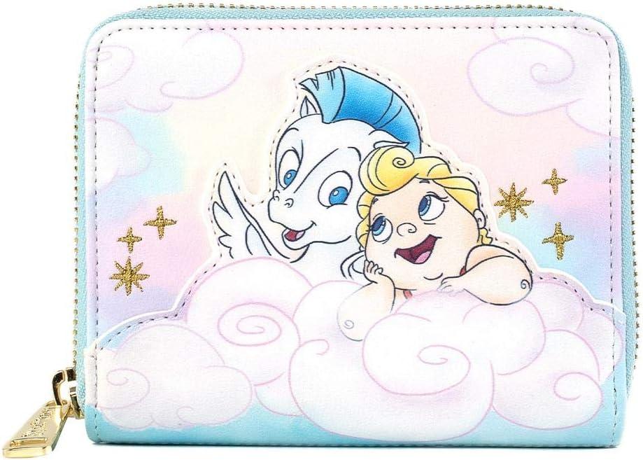 Loungefly Disney Hercules Baby Herc and Pegasus Zip Around Wallet