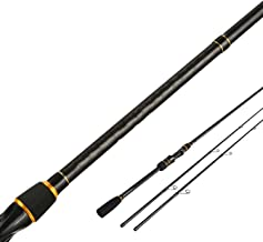 Surprise-Show Booster Fishing Rod with 2 Tips M/ML 5-28g Ex-Fast Action 2.1m Spinning Fishing Cane and Baitcasting Rod