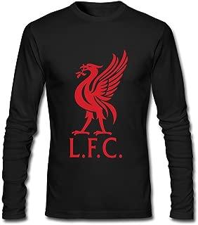 Adult Liverpool Fc Custom Long-Sleeve T-Shirt White By Rahk