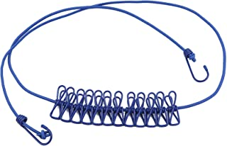 Zoomne Ligne de séchage de vêtements de Corde Coupe-Vent élastique portative pour Le séchage de Linge de vêtements de Voya...