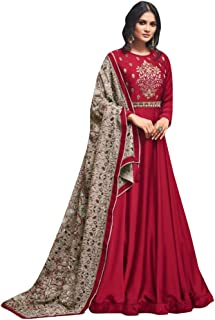 Designer Collection Embroidered Zari Hand work Indian Anarkali Salwar Suit Ethnic wear women gown Ceremony Muslim 761 6