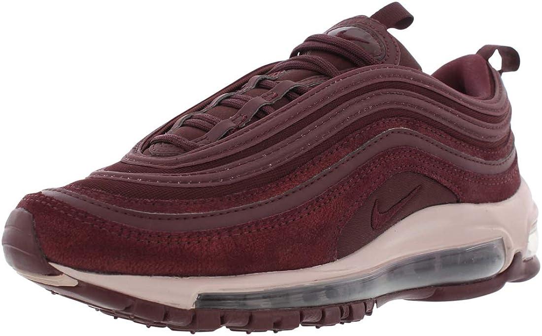 Nike Womens Air Max 97 Burgundy Crush/Metallic Mahogany Leather Casual Shoes 6 M US