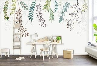 Wallpaper 3D European Minimalist Fresh Leaves Modern Custom Photo Wallpaper Murals Wall Decor
