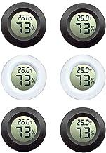 Hygrometerthermometer met LCD-display om vochtigheid en temperatuur weer te geven, geschikt voor kassen binnenshuis en bui...