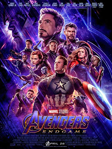 Endgame 2019 Poster Size 18×24 inches