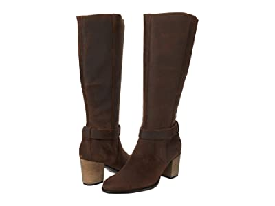 ECCO Shape 55 Tall Boot (Coffee) Women