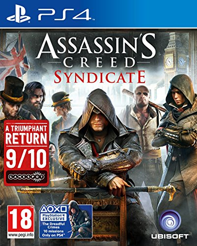 Assassin's Creed Syndicate - PS4 Exclusive (The Dreadful Crimes 10 Missions) PS4 [ ]