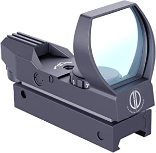 Dagger Defense -Combat Vet Owned Company- DD102R Red Dot Reflex Sight Scope - Reflex Sight Optic and Substitute for Holographic red dot Sights