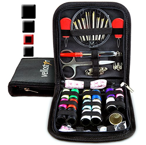 SEWING KIT - Tackle Any Emergency Clothing Repairs w/This High Rated Mini Mending Sew Storage Set for Kids & Adults, Small Beginner Travel Kits w/Supplies & Accessories  Christmas Present