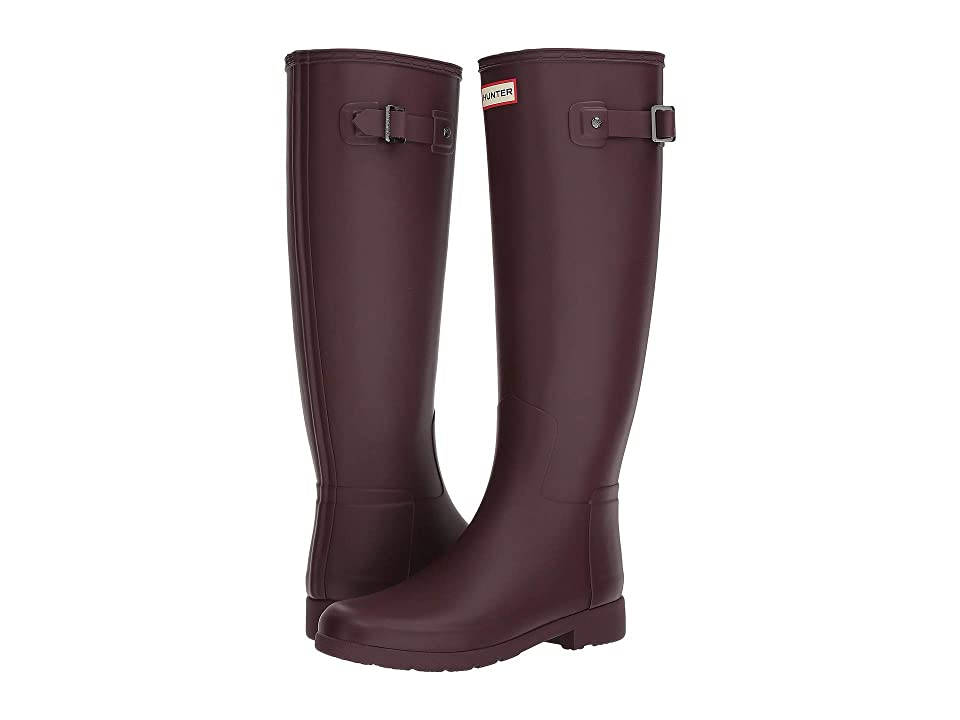 ccb987418f2 Hunter Original Refined Rain Boots (Oxblood) Women