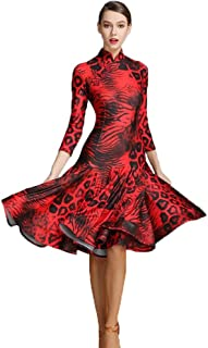 新入荷 社交ダンスドレス ラテンドレス モダンドレス ロングスカート ダンスウエア 競技 デモ ダンス衣装 ワンピース オーダーメード 全2色