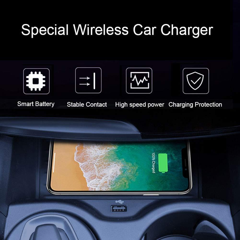 Pour BMW X5 X6 dédié voiture Qi chargeur sans fil, GALAXY