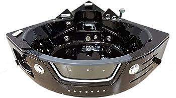 MCP Recessed Tubs SD050A Whirlpool Corner Tub