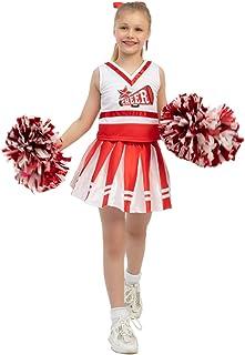High School Cheerleader Costume Child Cheerleading Girl...