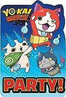 Yo-Kai Watch Party Invitation Cards
