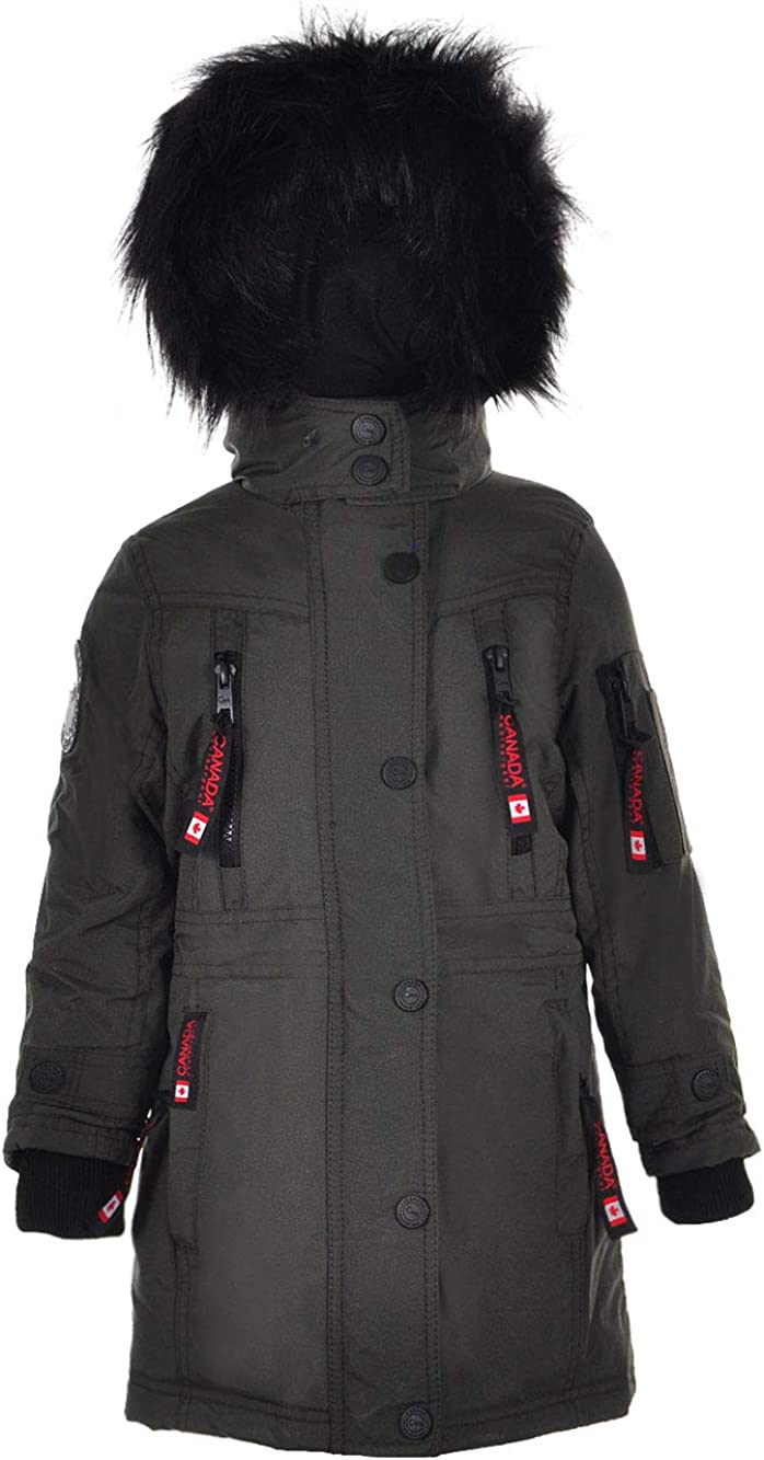 CANADA WEATHER GEAR Boys Bubble Insulated Parka
