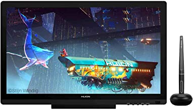 Huion KAMVAS 20 Drawing Pen Display Graphics Monitor Tilt Function Battery-Free Stylus 8192 Pen Pressure - 19.5 Inches