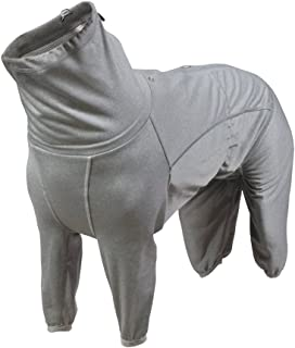 Hurtta Body Warmer Dog Body Body Suit, Recovery Suit, Grigio Carbonio 32M