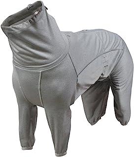 Hurtta Body Warmer Dog Body Body Suit, Recovery Suit, Grigio Carbonio 32M