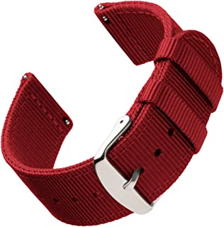 Archer Watch Straps - Premium Nylon Quick Release Replacement Watch Bands for Men and Women, Watches and Smartwatches | Multiple Colors, 18mm, 20mm, 22mm