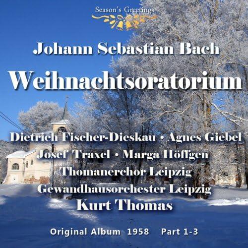 Agnes Giebel, Marga Höffgen, Dietrich Fischer-Diskau, Josef Traxel, Thomanerchor Leipzig, Gewandhausorchester Leipzig & Kurt Thomas