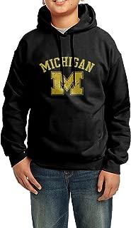 Beastesinlove Youth Michigan Wolverines Football Team Printed Sweatshirts Pullover Hoodie