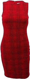 Calvin Klein Women's Petite Plaid Sheath Dress