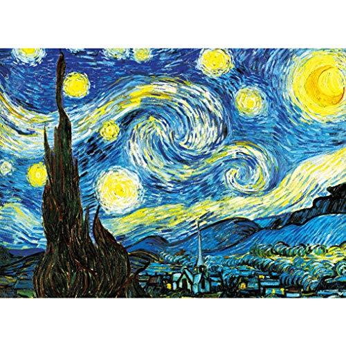 GuDoQi Puzzle da 1000 Pezzi Adulti Puzzle Notte Stellata per Bambini Adolescente