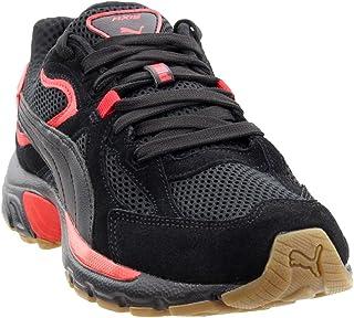 Puma Men's Axis Plus SD Fashion Sneakers Puma Black/High Risk Red/Gum