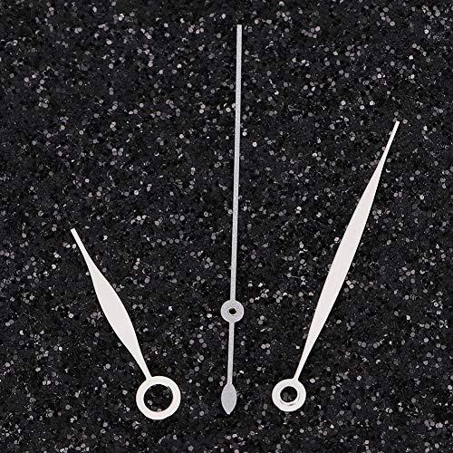 Accesorios para manecillas de reloj Eta2824 manecilla de reloj manecilla de horas y minutos manecilla de hombre [plateada], manecilla de horas y minutos de hombre T41 Herramientas