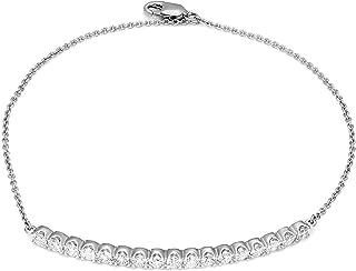 Best diamond bar bracelet gold Reviews