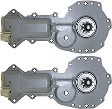 Power Window Lift Regulator Motors Pair Set Replacement for Chevrolet Astro Camaro Pontiac Firebird GMC Safari 88960088