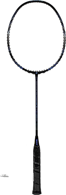 Apacs Commander 10 Black blueee Badminton Racket (5UG1)