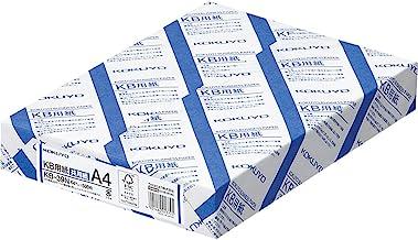 コクヨ コピー用紙 A4 白色度80% 紙厚0.09mm 500枚 FSC認証 KB-39N