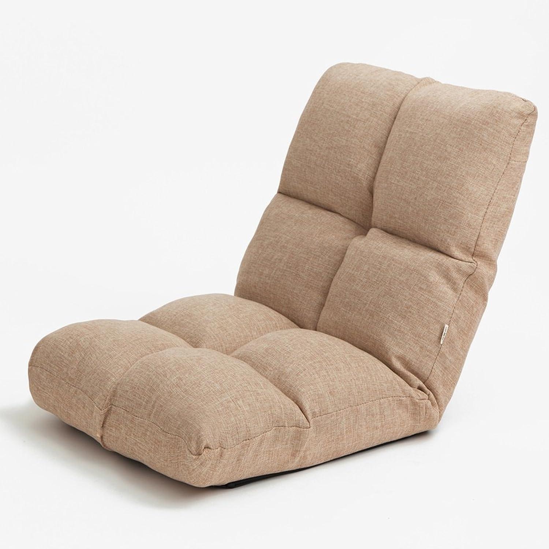 Folding Chair- Creative Lazy Sofa, Thick Bed Backrest Sofa, Single Dorm Sofa Chair, Size 51  51  50CM (color   A)