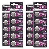 VEE CR2032 Battery 3V Lithium Coin Cell Batteries 2032 Battery 20pcs