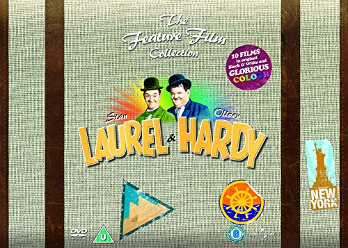 Laurel and Hardy - The Feature Film Collection [DVD] [1926]